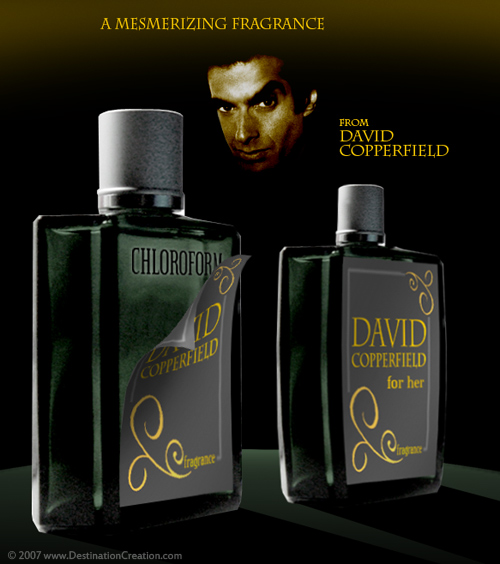 David Copperfield Secret Perfume