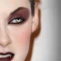 Kristen Stewart as a Vampire