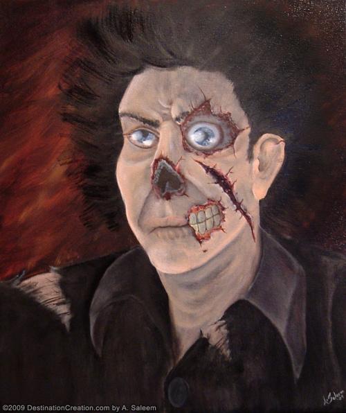 Zombie in Oil