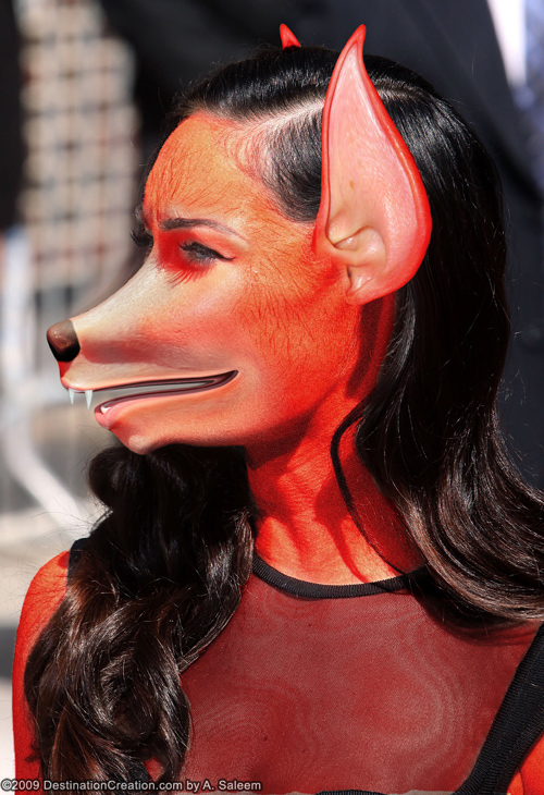 Megan Fox is a sexy fox