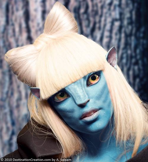 Gagatar - Lady Gaga/Avatar Mash-up