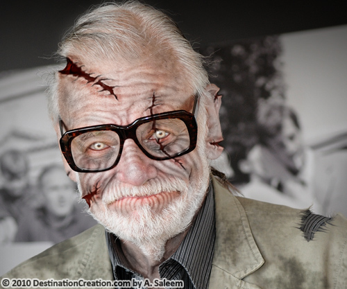 George A. Romero as a Zombie