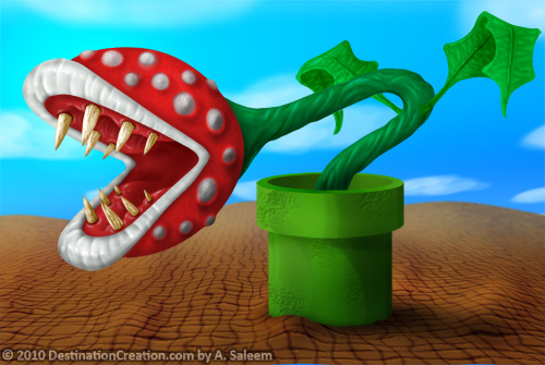 Piranha Plant - Super Mario Bros Tribute