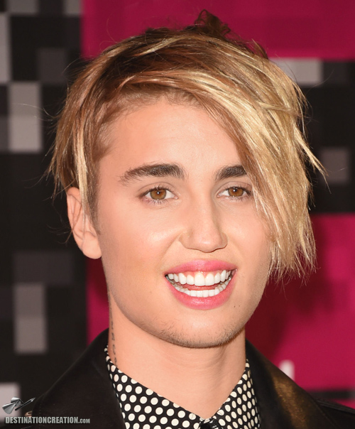 Justin Bieber's new haircut