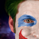 Crispin Glover as the Joker