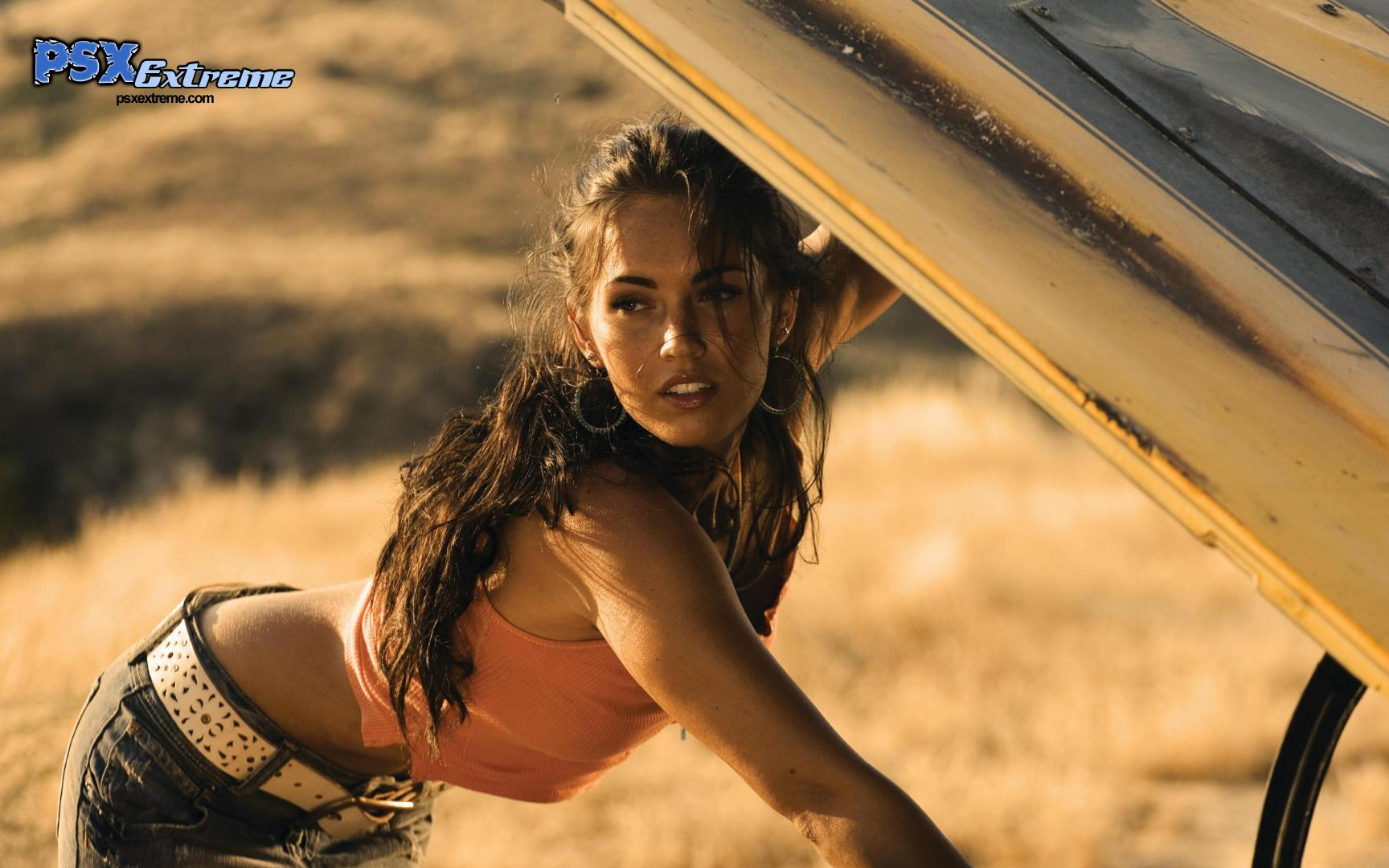 Megan Fox on scott drake mustang parts m 18